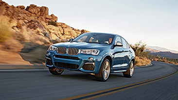 The New BMW X4 M40i.