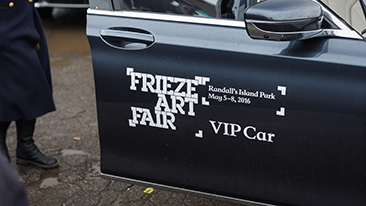 BMW presents Frieze Sounds, VIP Shuttle Service, and Art + Design Talks at Frieze New York 2016