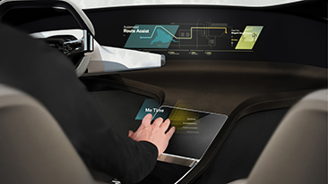 The BMW Group at CES 2017 in Las Vegas. BMW HoloActive Touch: An Innovative Operating Concept for the Interior of the Future.