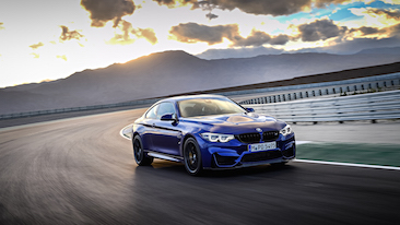 The First Ever BMW M4 CS: Sporting Appeal, High Performance for the Road and Track-Proven Dynamics.