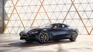 The BMW Concept 8 Series.