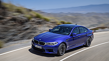 The All-New 2018 BMW M5: The Quintessential High-Performance Sedan.