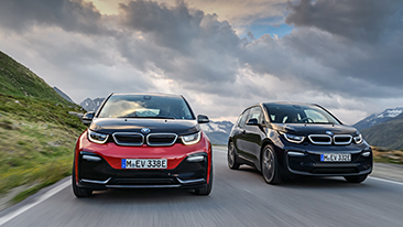 The New BMW i3 and First Ever BMW i3s.