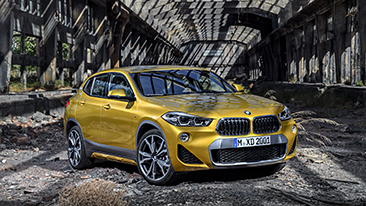 The First-Ever 2018 BMW X2: Powerful and Agile.