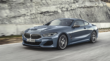 The All-New 2019 BMW 8 Series Coupe.