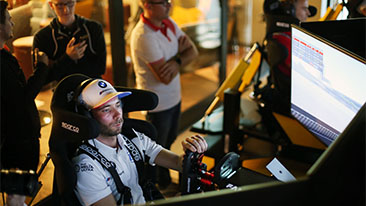 Racing simulator instead of DTM: BMW works driver Philipp Eng explains the sim racing phenomenon.