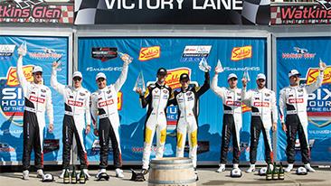 Both MOTUL BMW M8 GTEs on the GTLM podium at Watkins Glen – Turner Motorsport wins the GTD class.