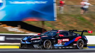 No. 24 BMW Team RLL M8 GTE third at Motul Petit Le Mans for team's sixth consecutive podium finish; Turner Motorsport BMW M6 GT3 finishes ninth in GTD class.