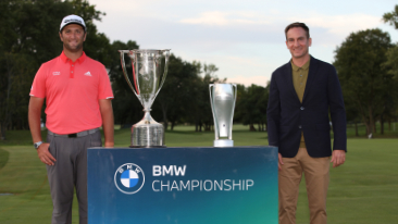 Jon Rahm Wins the 2020 BMW Championship at Olympia Fields Country Club in a Sudden Death Playoff.