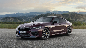 The New 2020 BMW M8 Gran Coupe and M8 Gran Coupe Competition