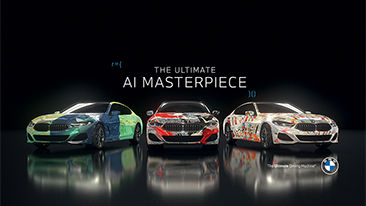 "BMW Blends Art and Artificial Intelligence to Create ""The Ultimate AI Masterpiece."" <br />"