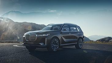BMW Concept X7 iPerformance.