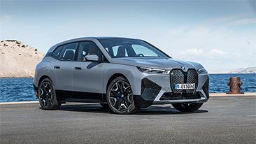 The New 2022 BMW iX xDrive50