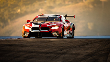 BMW Team RLL Finish Fifth and Sixth at WeatherTech Raceway Laguna Seca.