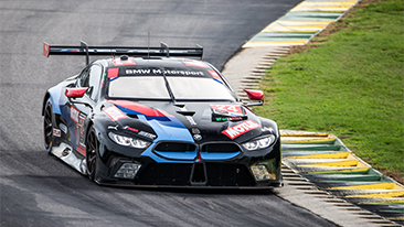 BMW Team RLL Finishes Second in Michelin GT Challenge at VIR; Bill Auberlen makes IMSA History with 61<sup>st</sup> Win.