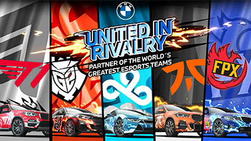 BMW Expands Esports Platform, Announces Global Partnerships which Include Content Creation, Education, Information Sharing and Technology Initiatives.