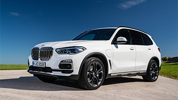 The 2021 BMW X5 xDrive45e PHEV Sports Activity Vehicle.