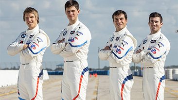Driver Line-Up Confirmed for the IMSA Season: De Phillippi, Edwards, Krohn and Spengler Start in the BMW M8 GTE for 2020.