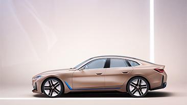 The BMW Concept i4.