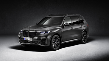 The 2021 BMW X7 Dark Shadow Edition