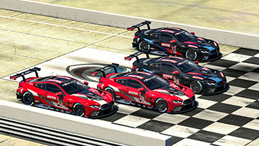"Ten BMW drivers will be on duty at ""Super Sim Saturday"" with races all around the virtual globe."