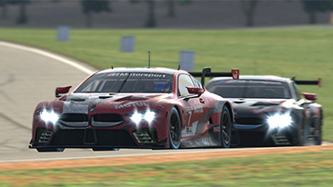 IMSA iRacing Pro Series: Five BMW M8 GTEs reach top ten in Virginia – Bruno Spengler fifth, extends overall lead.