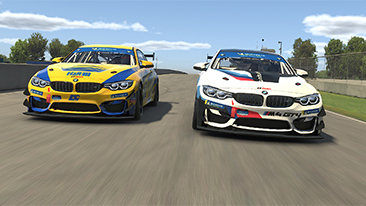 Realistic down to the smallest detail: how the virtual version of the BMW M4 GT4 came about.