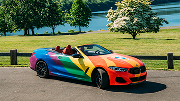 "BMW of North America Celebrates Pride Month with ""Driven By Pride"" Campaign"