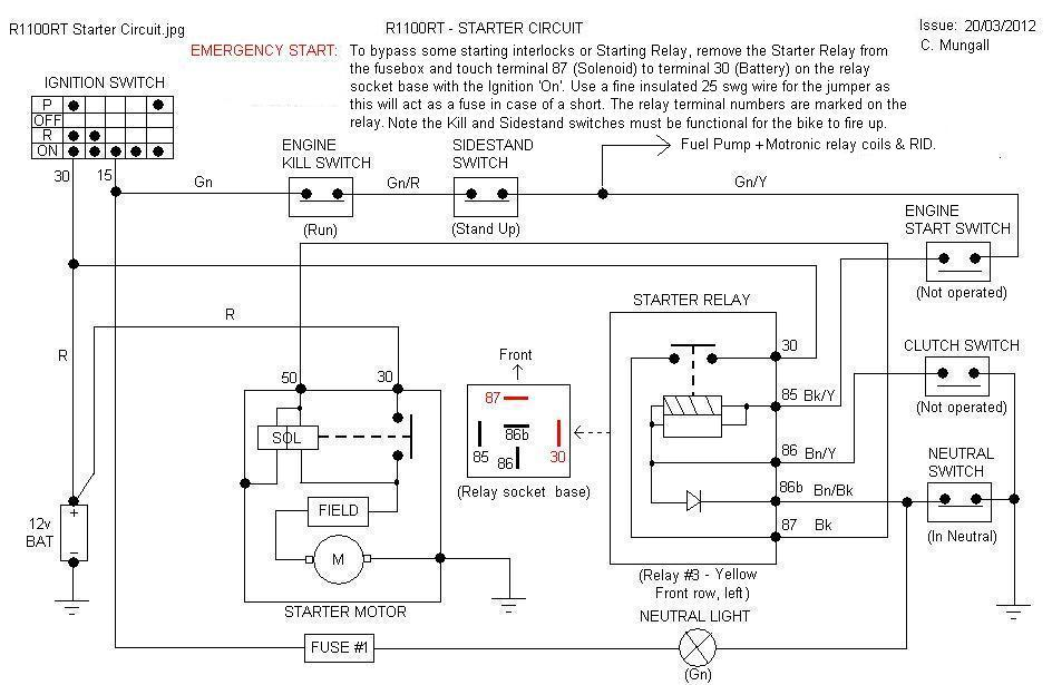 bmw r 1100 wiring diagram 2000 r1100rt  will not crank oilheads bmwsporttouring  2000 r1100rt  will not crank oilheads