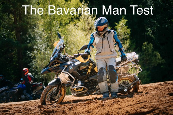 The Bavarian Man Test