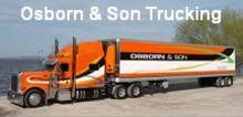 Osborn & Son Trucking (800) 776-3587