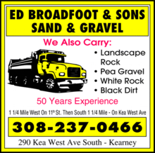 Ed Broadfoots & Sons Sand & Gravel Company