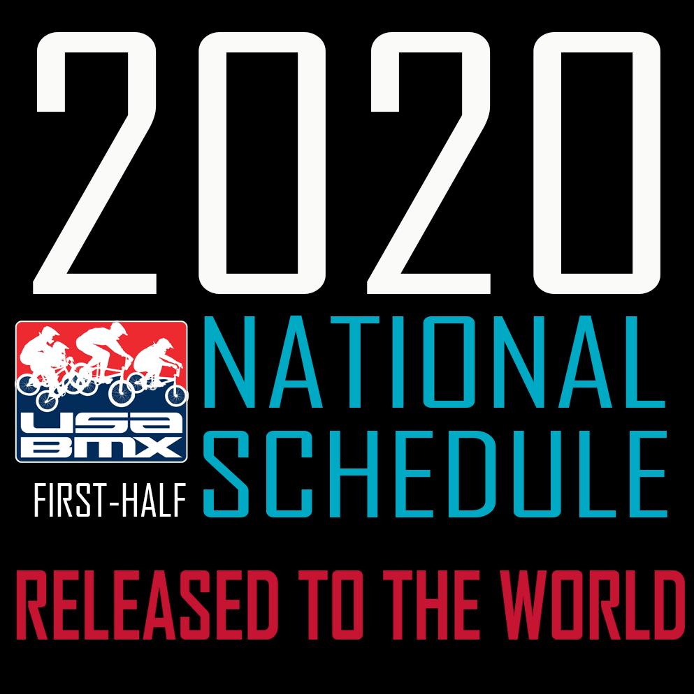 Nationals Schedule 2020.Usa Bmx Bmx Canada News