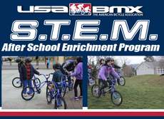 USA BMX S.T.E.M. Program at Work