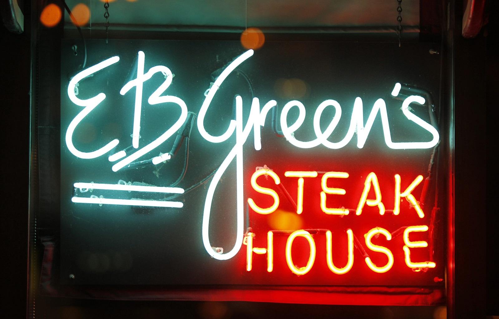 E.B. Green's opens in the Hyatt in April 1994. (Harry Scull Jr./Buffalo News)