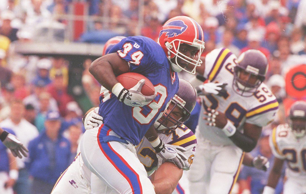 Thurman Thomas in 1997. (James P. McCoy/News file photo)