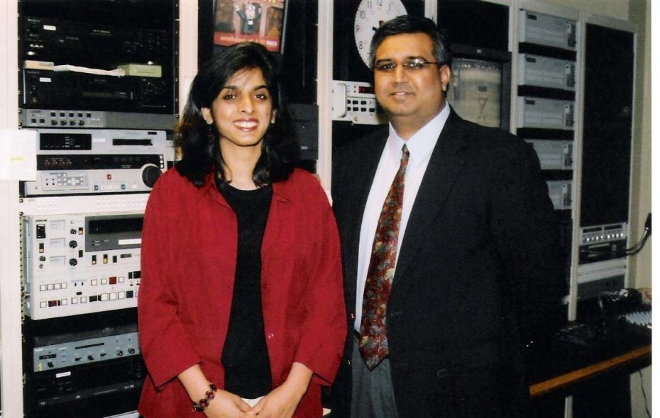 Muzzammil Hassan, CEO of Bridges TV in Orchard Park, and his wife, Aasiya Zubair Hassan, who headed up station programming, before her murder.