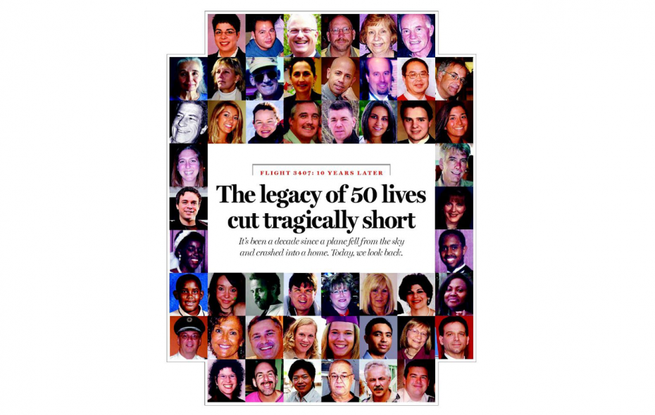 50 lives, some famous, are lost forever       Activists, musicians, devoted family members and working people now linked by tragedy