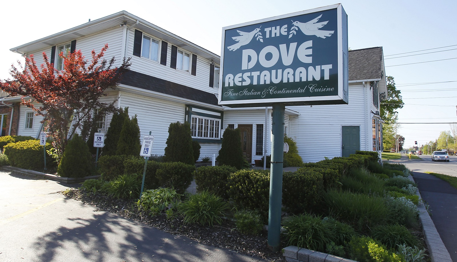 The Dove Restaurant in Orchard Park. (Mark Mulville/Buffalo News)