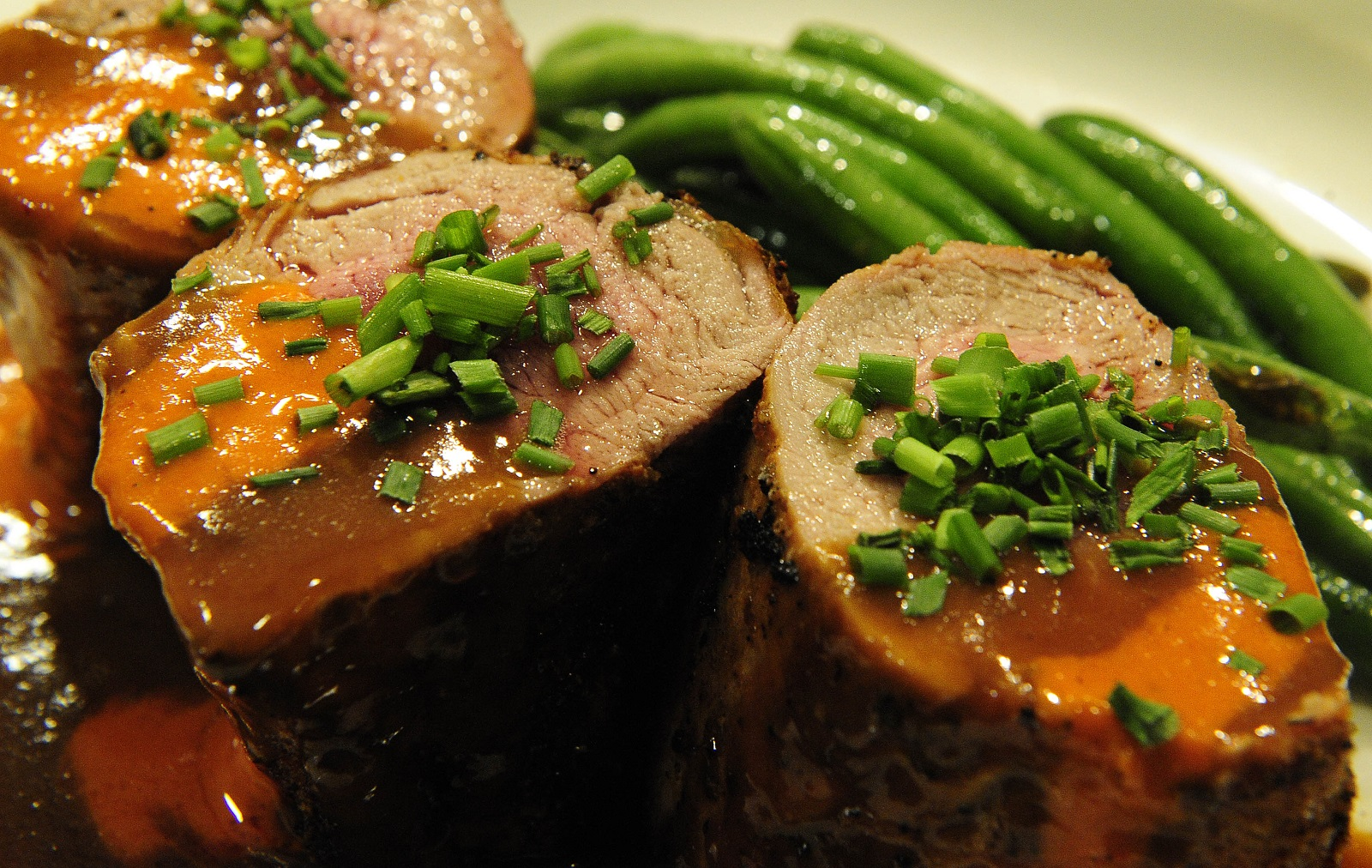 Pork tenderloin at Western Door Steakhouse. (Buffalo News file photo)
