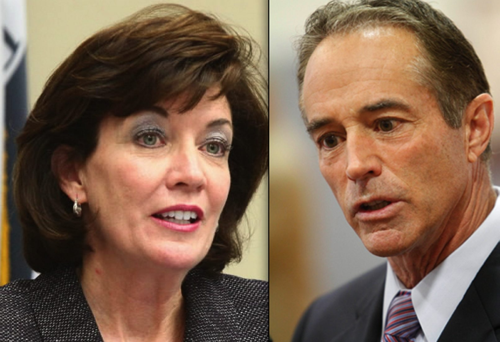 As they compete for congressional seat, Rep. Kathleen C. Hochul and Chris Collins address their legacies regarding record-keeping and ECMC, respectively.