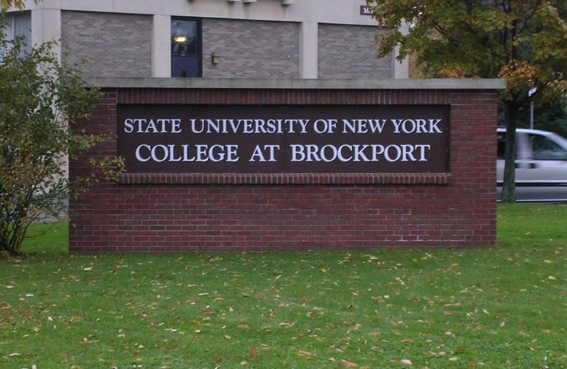 A Brockport State College student was found dead in her dorm room early Saturday morning.