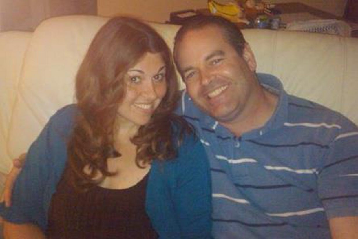 This Facebook photo shows Anthony Robert Taglianetti II and his wife, Mary Jenks Taglianetti.