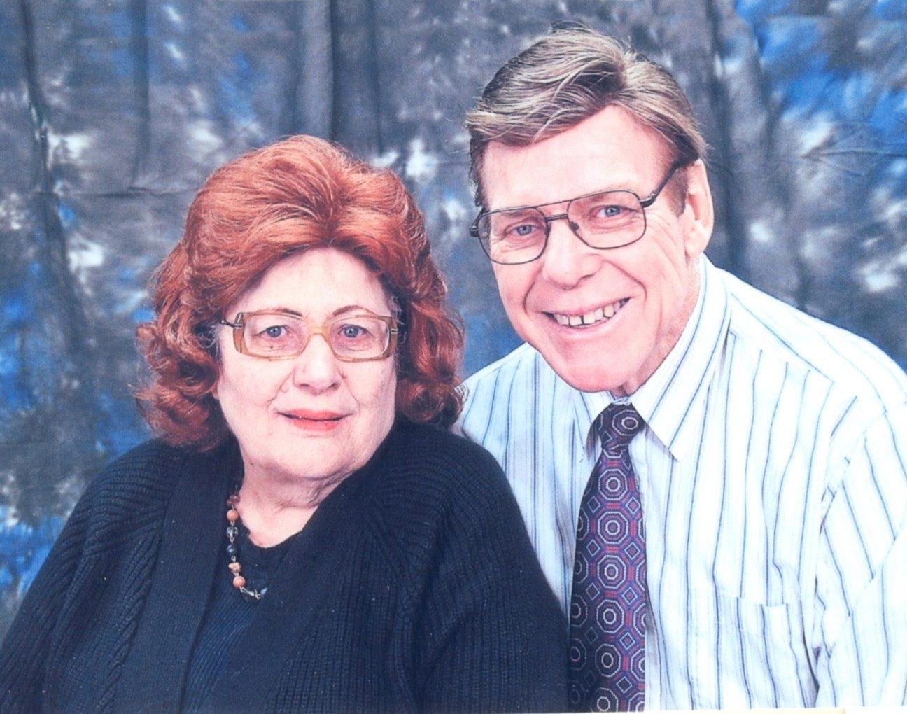Mr & Ms William Benn GY - golden years