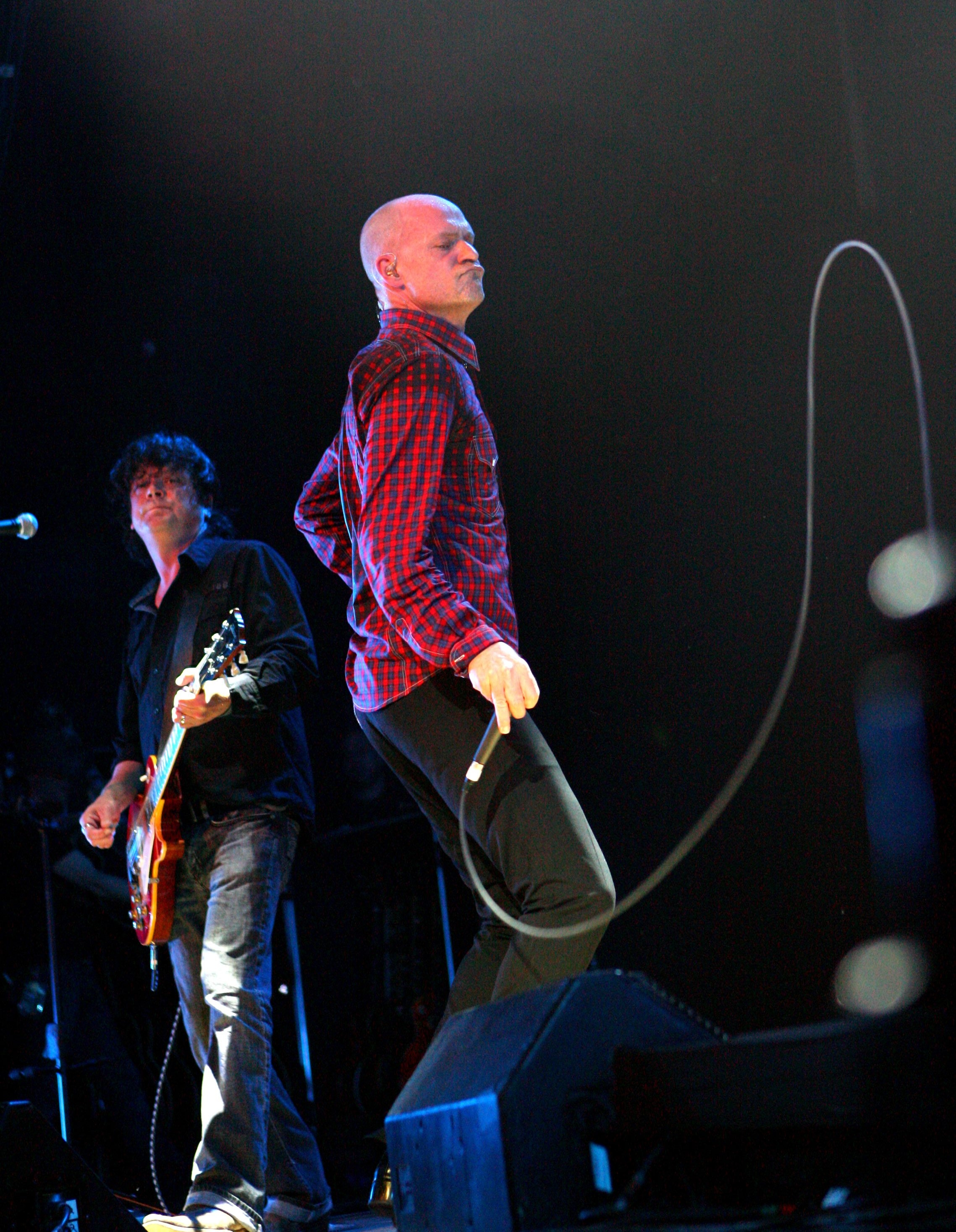 Buffalo News file photo    Gordon Downie and the Tragically Hip have created a hybrid of the band's early swagger and the elegance of its later work.