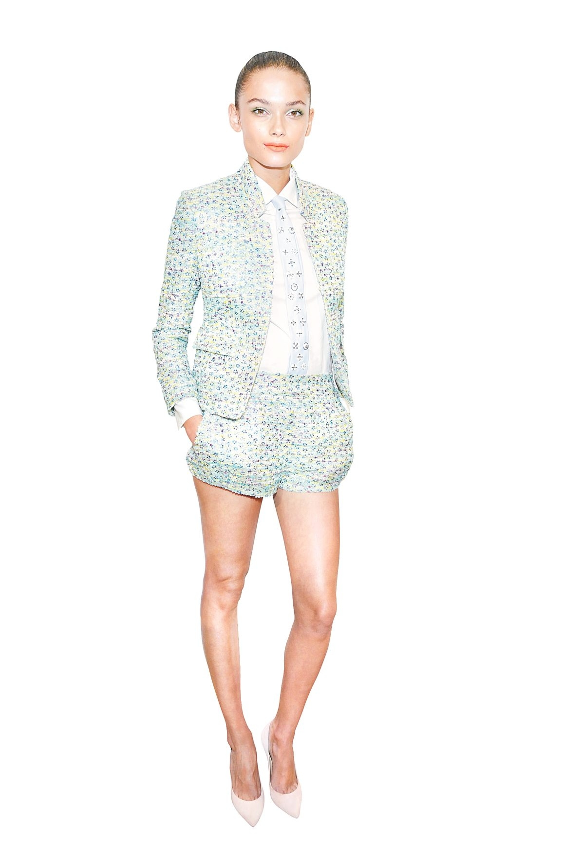A look from J. Crew's Spring 2013 collection, recently shown in New York. (Getty Images)