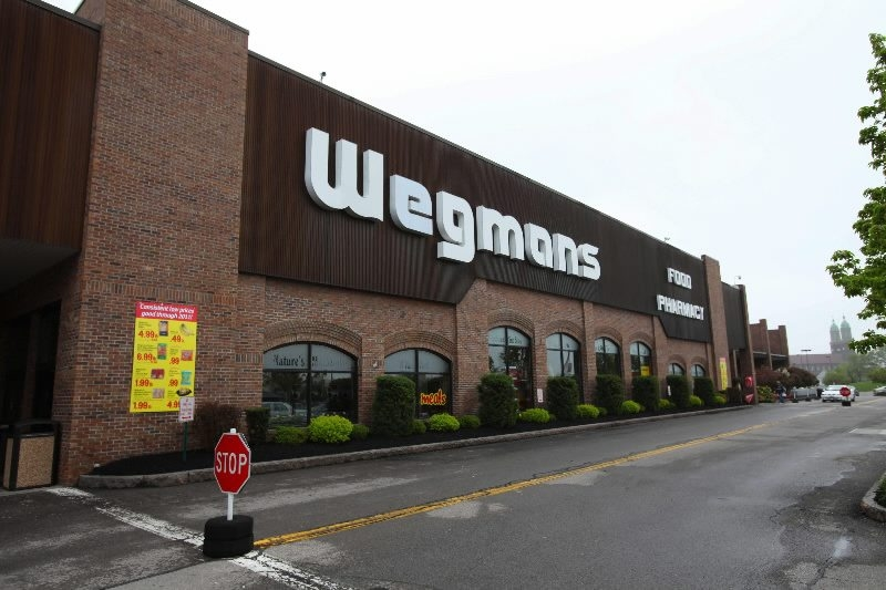 Buffalo News file photo    Wegmans is looking to build an enclosed dining area for its supermarket on Amherst Street in North Buffalo. It would also like to add a 15,000-square-foot, standalone retail store.