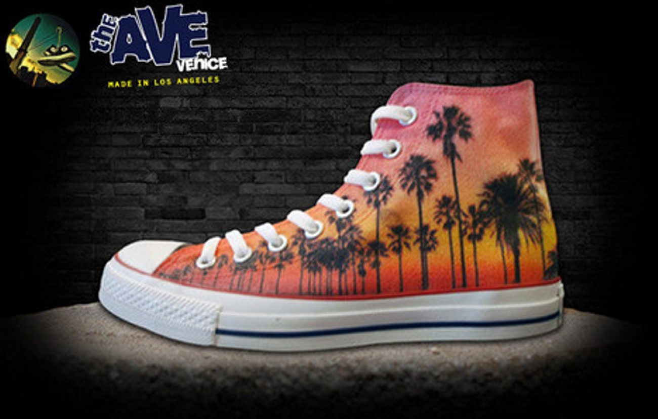 Personalized sneakers from The Ave.