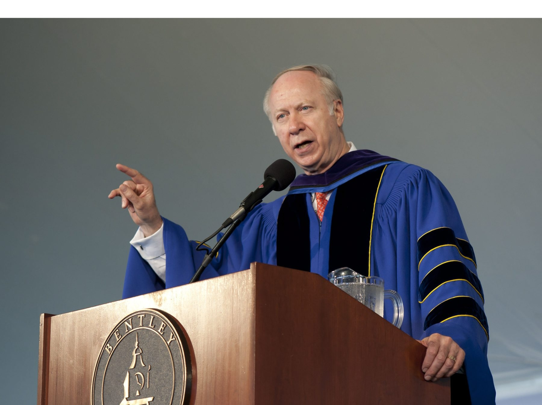 David R. Gergen spoke Monday.