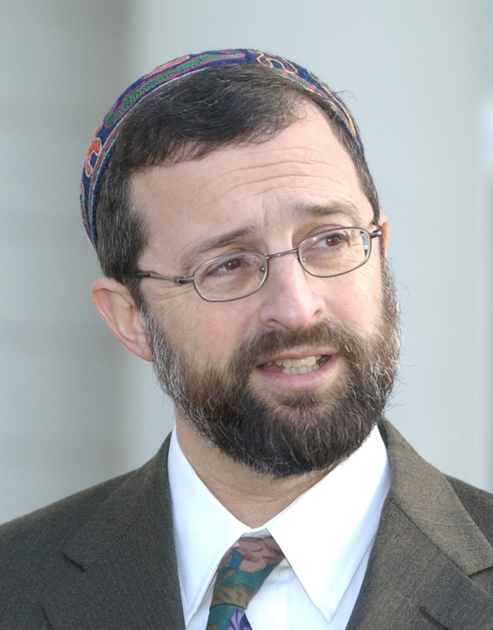 Sharon Cantillon/Buffalo News file photo    Ousted Rabbi A. Charles Shalman has a role in services at Hillel of Buffalo.